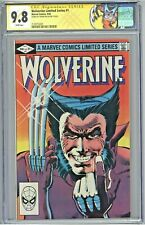Wolverine Limited Series #1 CGC 9.8 SS Signed Frank Miller 1982 1st Solo Comic