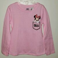 NEW Old Navy Girls 18-24 MONTH 2T 3T 4T 5T Long Sleeve Minnie Mouse Shirt #32119