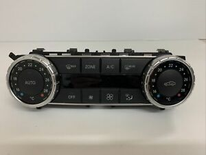 MERCEDES BENZ C CLASS W204 FACELIFT HEATER CONTROL SWITCHES A2049001007