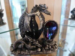 Myth & Magic - 3116 The Majestic Dragon - V RARE Tudor Mint Royal King Queen BOX