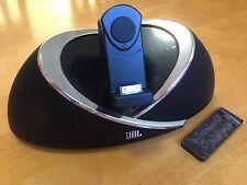 JBL iPod Dock / iPad, OnBeat, Video Out, 30 Pin, AUX In - Free Bluetooth Adaptor