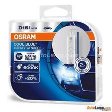 2 x OSRAM COOL BLUE INTENSE D1S Xenarc 6000K  LAMPS Xenon HID Car Bulb TWIN Box