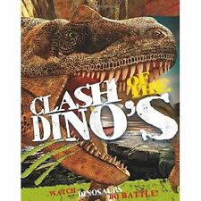 Johnson, Jinny, Clash of The Dinosaurs: Watch Dinosaurs Do Battle!, Very Good Bo