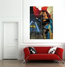 More details for superman batman comic book hero giant wall art new poster print picture