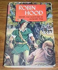 The Merry Adventures of Robin Hood Howard Pyle Hcdj Doubleday Classics Vintage