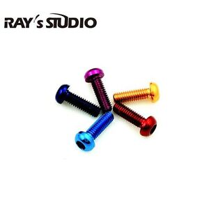 RAY's STUDIO for DAIWA【PX68・ALPHAS・ZONDA】Color Reels Body Screw Set 5-8-8 3xpcs