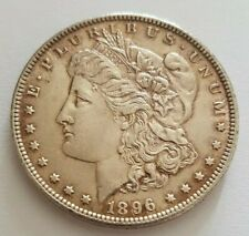 More details for 1896 usa united states of america silver morgan one dollar $1 coin