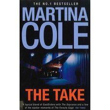 MARTINA COLE ___  THE TAKE ___ BRAND NEW BLUE COVER ____ FREEPOST UK