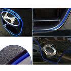 5M AUTO ACCESSORIES CAR Universal Interior Moulding Decors 4mm Blue Strip CHROME