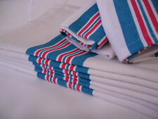 6 NEW BABY INFANT RECEIVING SWADDLING HOSPITAL BLANKETS LARGE 30''X40'' STRIPED