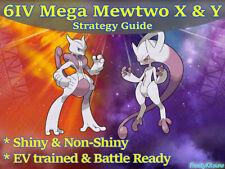 6IV Mega Mewtwo X & Y Shiny Pokemon Strategy Guide [Ultra/Sun/Moon]