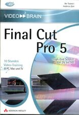 Video 2 Brain final cut pro 5 10 heures vidéo training