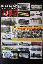 MODELISME FERROVIAIRE TRAIN MAGAZINE LOCO REVUE N° 666 de 2003