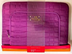 "Kate Spade of New York Macbook Pro 15"" Designer Sleeve/Case A1286/A1707/A1398"