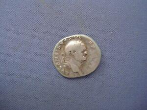 Roman Coin of Vespasian - AR Silver Denarius