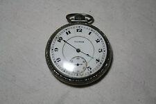 Vintage Illinois Watch Co Springfield Pocket Watch