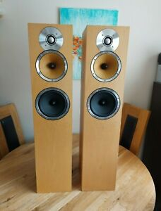 B&W CM 7 HiFi Floorstanding Speakers - 150 W + Original Boxes