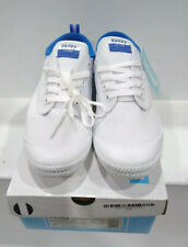 Volley International Canvas White And Blue Shoes Size Euro 43/ US10/ UK9/