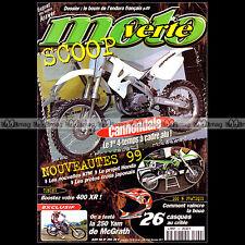 MOTO VERTE N°290-b HONDA XR 400 BETA 125 ALP GAS GAS PAMPERA JEREMY McGRATH 1998