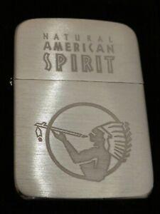 ZIPPO 1941 Replica AMERICAN SPIRIT Feuerzeug im org. Etui