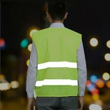 Hi-Vis Safety Vest Reflective Jacket Security Waistcoat Warp Knitting Cloth GN