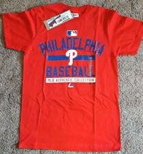 Philadelphia Phillies T-Shirt Majestic New with Tags Medium M Baseball MLB