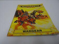Vintage Warhammer 40K/ 40,000 Games Workshop Wargear Book 1993 Acceptable