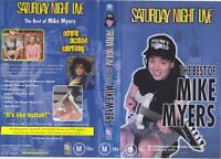 THE BEST OF MIKE MYERS SATURDAY NIGHT LIVE ~ VIDEO VHS PAL A RARE FIND~