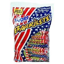 BARRILETE - FRUIT CHEWY CANDY (CARAMELO BLANDO MASTICABLE SABOR FRUTAL) 50 UNITS