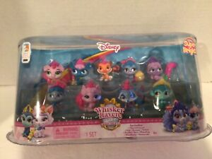 """Disney  Palace Pets 9 Piece figures  Mini Play Set  1.5"""".NEW from 2015 series 4"""