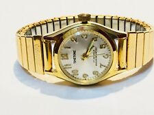 Vintage Timetone Mech.Wind Up 17Jewels ShockResistant Ladies Wrist Watch(TT1113H