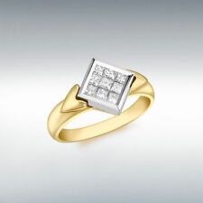 Engagement Excellent Cut White Gold SI1 Fine Diamond Rings