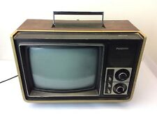 1976 Panasonic Solid State Panacolor CT-314W Yellow Brown Television TV Parts