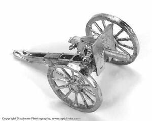 Old Glory Colonialism Boer War British 25mm 1 Pounder Pom-Pom Pack New