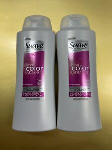 (2 Suave)Professionals Sheer COLOR Radiance Protect & Revive Shampoo 28 Oz Each