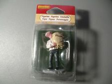 LEMAX VILLAGE Chef Cook Baker CARRYING FLOUR  ITEM # 62260 NIP RETIRED