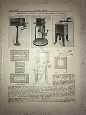 Gas Heated Furnaces For Metallurgical Purposes: 1912 Engineering Magazine Print