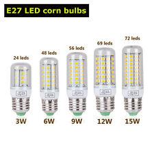 E27 Maïs Ampoule LED 3W6W 9W12W15W 5730SMD Lampe Lumière Blanc Froid/Chaud bulb