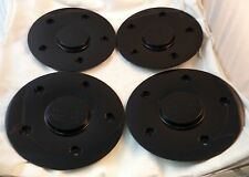 Rock Starr Wheels Gloss Black Custom Wheel Center Cap Set 4 (1) # CAP522L185
