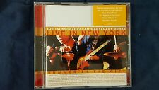 JOE JACKSON - LIVE IN NEW YORK. SUMMER ON THE CITY. CD