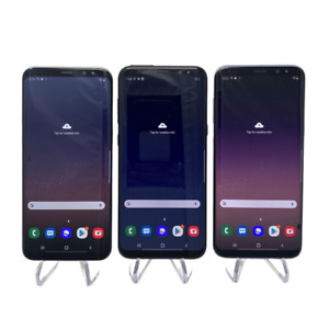 Samsung Galaxy S8+ Plus - 64GB - Black/Silver/Blue - Fully Unlocked - Smartphone