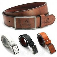 Men's  Casual Waistband Leather Automatic Buckle Belt Waist Strap Belts Hot Sale