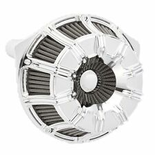 Arlen Ness Chrome Inverted Series 10-Gauge Stage 1 Air Cleaner Harley TBW 08-16
