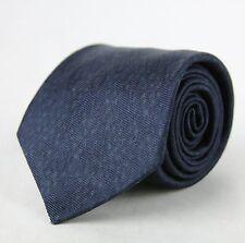 New Bottega Veneta Dark Blue and Gray Leopard and Dot Print Tie 355737 4062