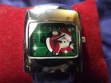 Woman's Quartz Christmas Cuff Watch **New** B90-Box 43