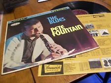 PETE FOUNTAIN PLAYS THE BLUES STEREO RECORD ALBUM
