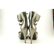 Sandalias y chanclas de mujer gris Jessica sintético
