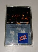 MTV Unplugged Maxwell Cassette 1997 Columbia USA