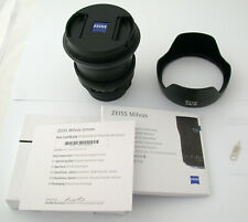ZEISS Milvus 2,8/18 18 18mm F2,8 2,8 Nikon ZF.2 wie neu like new INTERLOCK