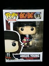 Angus Young #91 Funko Pop Rocks Nib Unopened with Pop Protector